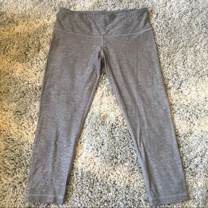 Lululemon running crop pants